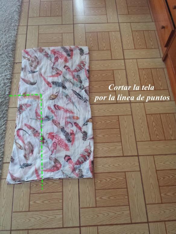 DIY Kimono. Cómo hacer un kimono